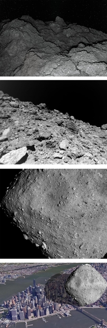 Nasa has a spacecraft called OSIRIS-REx at Asteroid Bennu which will return a sample of its rocks back to Earth in