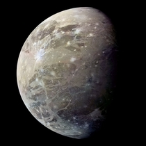 NASA image of Ganymede Jupiters moon