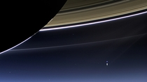 NASA Releases Image of Earth from Beyond Saturn Taken by Cassini on July