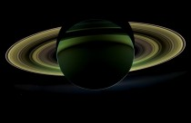 NASAs Cassini spacecraft delivered this view of Saturn taken while in Saturns shadow on December   This special very-high-phase viewing geometry lets scientists study ring and atmosphere phenomena not easily seen at a lower phase AP PhotoNASA