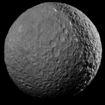 NASAs Cassini spacecraft made its final close approach to Saturns moon Mimas on January   At closest approach Cassini passed  miles kilometers from Mimas This mosaic is one of the highest resolution views ever captured of the icy moon