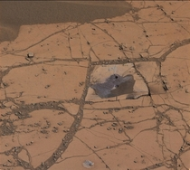 NASAs Curiosity Mars Rover Finds Mineral Match