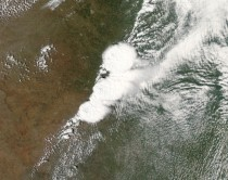 NASAs Earth Observing System took a picture of the storm over Oklahoma when the tornado started