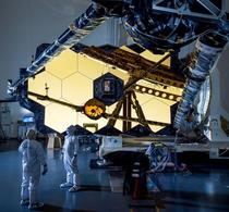 NASAs James Webb Space Telescope during a test of its secondary mirror deployment