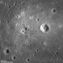 NASAs Lunar Reconnaissance Orbiter capturing images of the Apollo  landing site