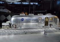 NASAs Mobile Quarantine Facility MQF one of four built for astronauts returning from the Moon