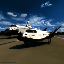 NASAs new Dream Chaser and its predecessor