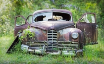 Nash Ambassador left to rot away in Florida