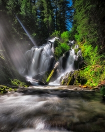 National Creek Falls Oregon