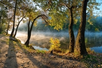 National park Sviati Hory Holy Mountains Donetsk Oblast Ukraine