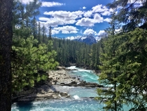 Natural Bridge Yoho National Park BC  x  OC