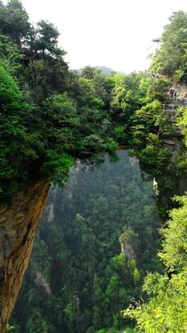 Natural Bridge - Zhangjiajie National Park China