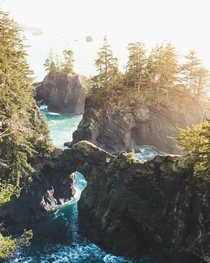 Natural Bridges of Samuel Boardman Oregon