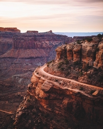 Natural Roads in Utah Canyonlands National Park UT