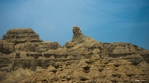 Natural rock formation in Hingol National Park Baluchistan Pakistan which looks like Sphinx of Giza  By Uzair Ahmad