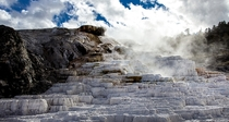 Natural Steps at Mammoth Hot Springs WY