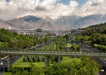 Nature Bridge Tehran Iran