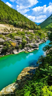 Nature is happening Permet Albania