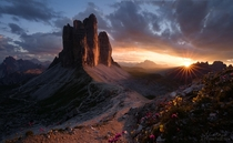 Natures Gift to the World Tre Cime di Lavaredo - Italy