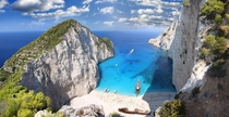 Navagio Beach Zakynthos Ionian Islands Greece -