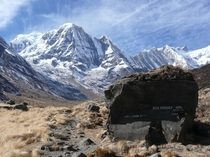 Near Annapurna Base Camp ABC - Nepal X
