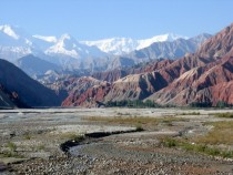 Near Karakoram Highway - Xinjiang China