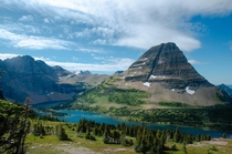 Near Logan Pass at Glacier National Park Montana  x