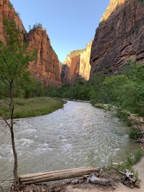 Near The Narrows Zion National Park