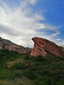 Near The Red Rock Ampitheatre Colorado x