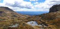 Near the top of Kaweka J Hawkes Bay New Zealand