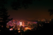 Nearby Namsan Tower Seoul