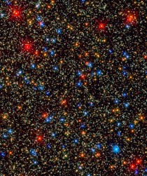 Nearly  million stars at a glance