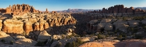 Needles District panorama in Canyonlands National Park The size and scale of the landscape here is incredible and I hope the high resolution does it justice