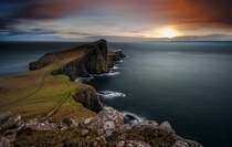 Neist Point Isle of Skye Scotland  by Alessio Putzu x-post rBritPics