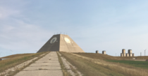Nekoma Pyramid in North Dakota abandoned anti ballistic missile base