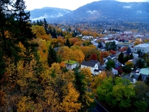 Nelson British Columbia in the Fall