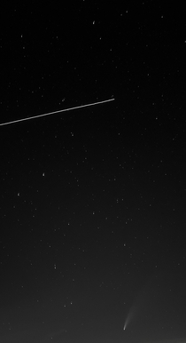 Neowise and ISS taken with S