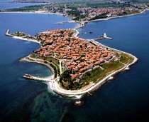 Nesebar Bulgaria Originally a Thracian settlement dating back to th century BC