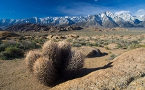 Nestled among the Alabama Hills east of the Sierra Nevada