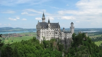Neuschwanstein Castle Commissioned by Ludwing II of Bavaria  late th c Hohenschwangau Germany