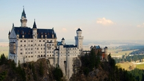 Neuschwanstein Castle located in Hohenschwangau Germany Architect Eduard Riedel