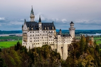 Neuschwanstein - the inspiration for Disneylands Sleeping Beauty Castle