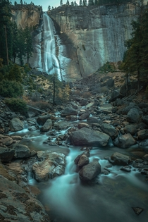 Nevada Falls in Yosemite National Park CA