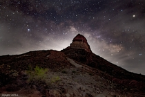 Never Caught Milky Way and Moonrise at the Same Time Dark Skies Matter - Big Bend NP
