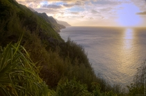 Never mind the chopper Kalalau Trail Na Pali Coast