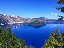 Never seen such a beautiful painting Crater Lake OR