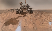 New Curiosity Rover self-portrait