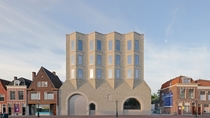New Extension to the Museum de Lakenhal in Leiden Netherlands by Happel Cornelisse Verhoeven and Julian Harrap Architects Inspired by the towns textile factories