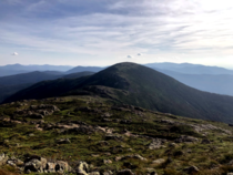 New Hampshire has  peaks over  One of my favorites gentle Mt Eisenhower