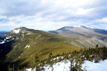 New Hampshires White Mountains are often overlooked on here This is Franconia Ridge x